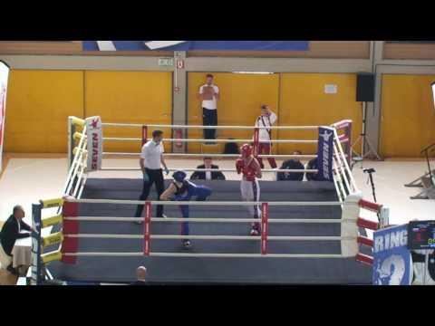Thea Therese Naess V Lilia Sharapova  WAKO European Championships 2016