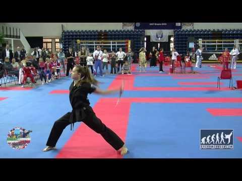 Angelina Kopytova (RUS) Junior WAKO World Championships 2014