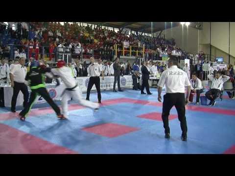 Giancarlo Ciccotta V Joe Dolan WAKO European Championships 2016