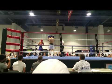 Amateur Muay Thai/Kickboxing 2016 WAKO 16 Y/o Championship Fight Round 1 (cont'd)