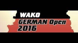 German Open 2016 Tag 2, Ring