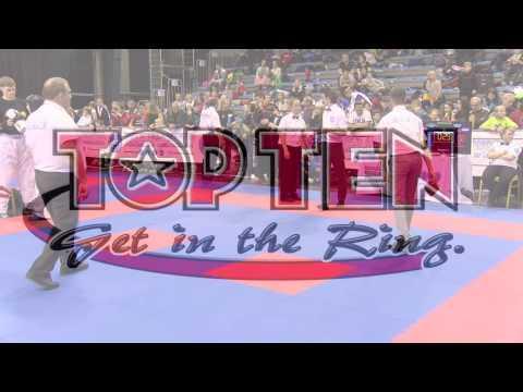 Sonja Stacher V Lucija Cicvara Hungarian Kickboxing World Cup 2016