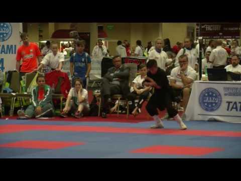 Carlos Francisco Gomez Santillan WAKO Junior And Cadet World Championships 2016