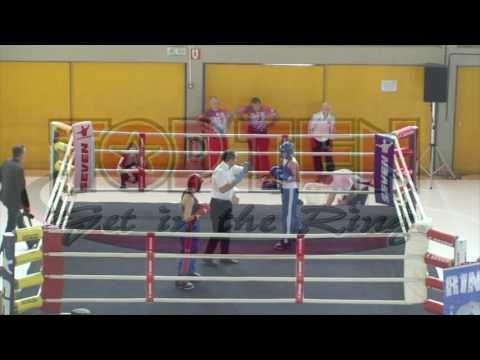 Tennesse Randall V Jenna Puurunen WAKO European Championships 2016