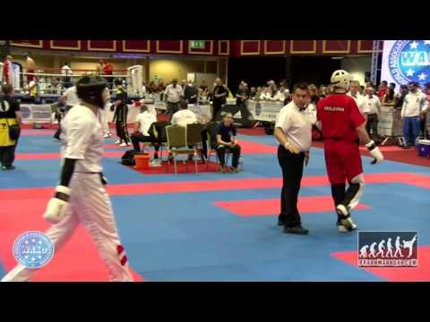 Domink Holbling AUT V Emanuil Dimitrov BUL WAKO World Champioships 2015