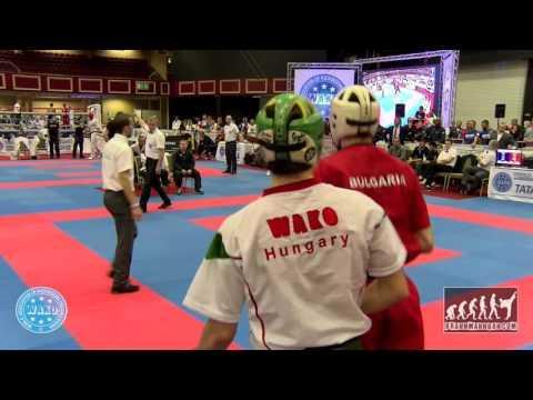 Emanuil Dimitrov BUL V Laszlo Gombos HUN WAKO World Championships 2015