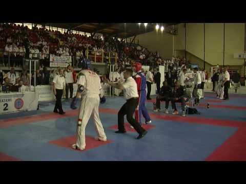 Ron Peploe V Peter Csikos WAKO European Championships 2016