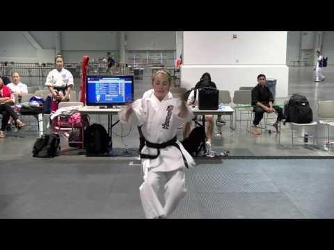 Elizabeth Roulliard 1 WAKO North American Open 2016