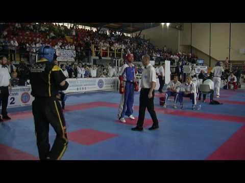 Hlias Diamantopoulos V Nino Lavecchia WAKO European Championships 2016