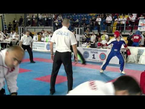 Nikita Lipshin V Kevin White WAKO European Championships 2016