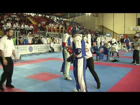 Admir Sinanbegovic V Nikita Lapshin WAKO European Championships 2016